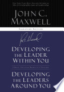 Maxwell 2in1  Developing the Leader w in You Developing Leaders Around You