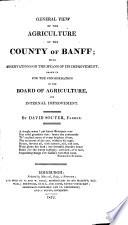 Agricultural Surveys  Banff  1812