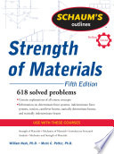 Schaum s Outline of Strength of Materials  Fifth Edition