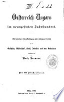 Oesterreich-Ungarn im neunzehnten Jahrhundert