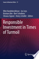 Responsible Investment in Times of Turmoil