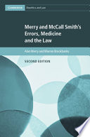 Merry and McCall Smith s Errors  Medicine and the Law