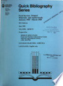 Quick Bibliography Series Book PDF
