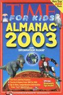 Time for Kids  Almanac 2003 Book PDF