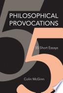 Philosophical Provocations : think about old problems, spanning a range...