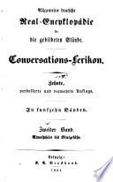Allgemeine deutsche Real-Encyklopädie für die gebildeten Stände