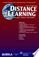 Distance Learning   Issue