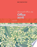 New Perspectives Microsoft Office 365   Office 2016  Intermediate