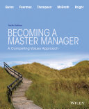 download ebook becoming a master manager: a competing values approach, 6th edition pdf epub