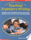Step By Step Strategies for Teaching Expository Writing