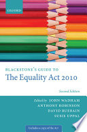 Blackstone s Guide to the Equality Act 2010