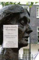 Virginia Woolf s Bloomsbury  Volume 1