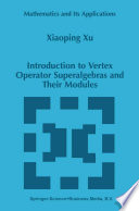 Introduction to Vertex Operator Superalgebras and Their Modules