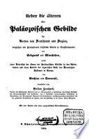 Ueber die älteren oder Paläozoischen Gebilde im Norden von Deutschland und Belgien