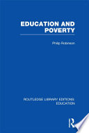 Education and Poverty  RLE Edu L