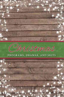 Christmas Programs  Dramas  and Skits