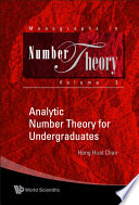 Analytic Number Theory for Undergraduates