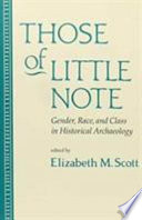 Those of Little Note