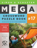 Simon Schuster Mega Crossword Puzzle Book 17