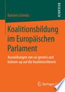 Koalitionsbildung im Europäischen Parlament