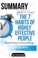 Steven R  Covey s the 7 Habits of Highly Effective People