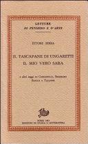 Il tascapane di Ungaretti, il mio vero Saba e altri saggi su Cardarelli, Sbarbaro, Barile e Tallone