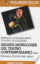 Grandi monologhi del teatro contemporaneo
