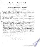 Bayerische Verlust-Liste