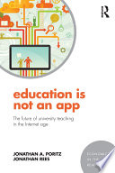 illustration Education Is Not an App, The future of university teaching in the Internet age