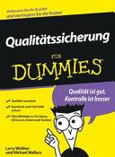 Qualitatskontrolle Fur Dummies