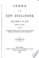 New Englander and Yale Review Book PDF