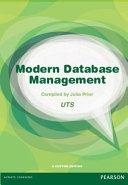 Modern Database Management Custom Edition