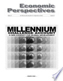 Millennium Challenge Account  A New Compact for Global Development