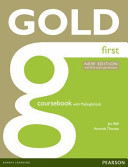 Gold First New Edition Coursebook for Mylab Pack