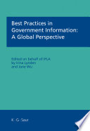 Best Practices in Government Information