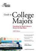 Guide to College Majors