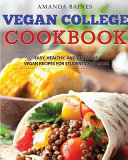 Vegan College Cookbook