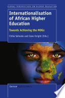 Internationalisation of African Higher Education