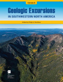 Geologic Excursions in Southwestern North America Book