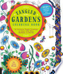 Tangled Gardens Coloring Book : artworks by artist jane monk. readers can...