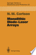 Monolithic Diode Laser Arrays