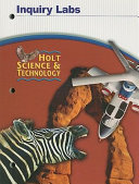 Holt Science   Technology Inquiry Labs