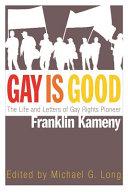 Gay Is Good Book PDF