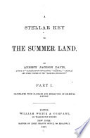 A Stellar Key to the Summer Land Book PDF