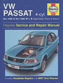 Vw Passat 96 00 Service And Repair Manual