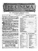 To-day's Cinema News and Property Gazette