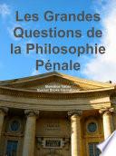 illustration Les Grandes Questions De La Philosophie pénale