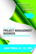 How To Start A Project Management Business : today's job environment, or get...