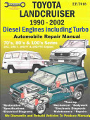 Toyota Landcruiser 1990 2007 Automobile Repair Manual