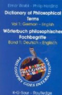 Dictionary Of Philosophical Terms